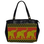 Elephant Pattern Office Handbags (2 Sides)  Front