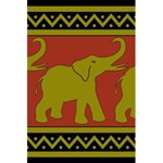 Elephant Pattern 5.5  x 8.5  Notebooks Front Cover
