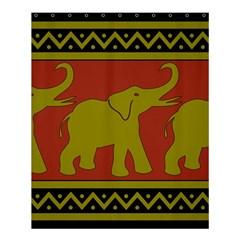 Elephant Pattern Shower Curtain 60  x 72  (Medium)