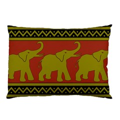 Elephant Pattern Pillow Case (Two Sides)