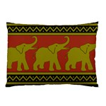 Elephant Pattern Pillow Case (Two Sides) Back