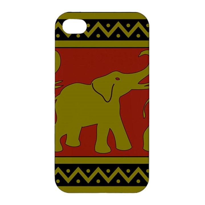 Elephant Pattern Apple iPhone 4/4S Hardshell Case