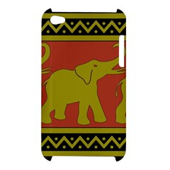 Elephant Pattern Apple iPod Touch 4