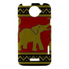 Elephant Pattern HTC One X Hardshell Case