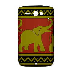 Elephant Pattern HTC ChaCha / HTC Status Hardshell Case