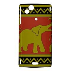 Elephant Pattern Sony Xperia Arc