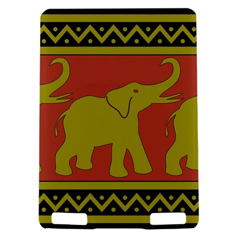 Elephant Pattern Kindle Touch 3G