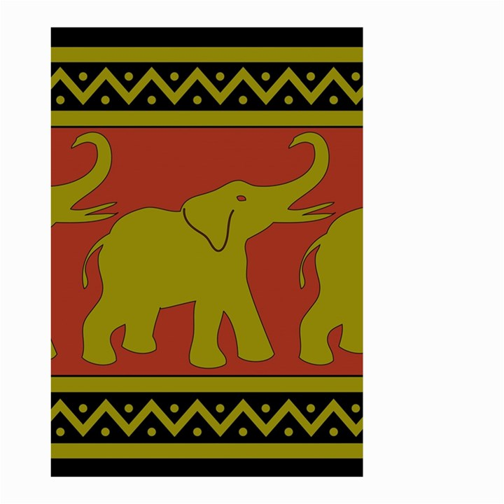 Elephant Pattern Small Garden Flag (Two Sides)