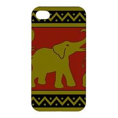Elephant Pattern Apple iPhone 4/4S Premium Hardshell Case