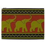 Elephant Pattern Cosmetic Bag (XXL)  Front