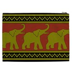Elephant Pattern Cosmetic Bag (XXL)  Back