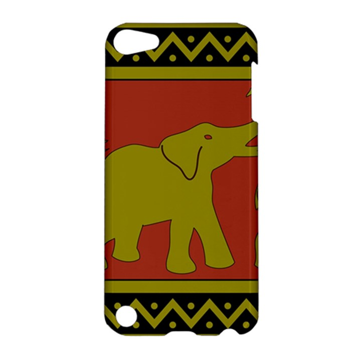 Elephant Pattern Apple iPod Touch 5 Hardshell Case