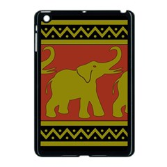 Elephant Pattern Apple iPad Mini Case (Black)