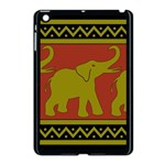 Elephant Pattern Apple iPad Mini Case (Black) Front