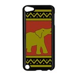 Elephant Pattern Apple iPod Touch 5 Case (Black) Front
