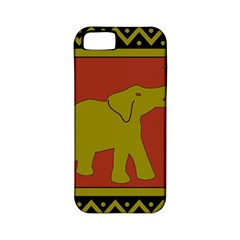 Elephant Pattern Apple iPhone 5 Classic Hardshell Case (PC+Silicone)
