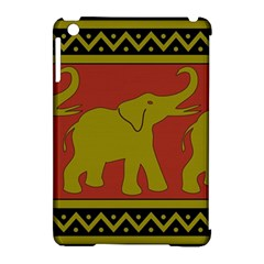 Elephant Pattern Apple iPad Mini Hardshell Case (Compatible with Smart Cover)