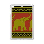 Elephant Pattern iPad Mini 2 Enamel Coated Cases Front