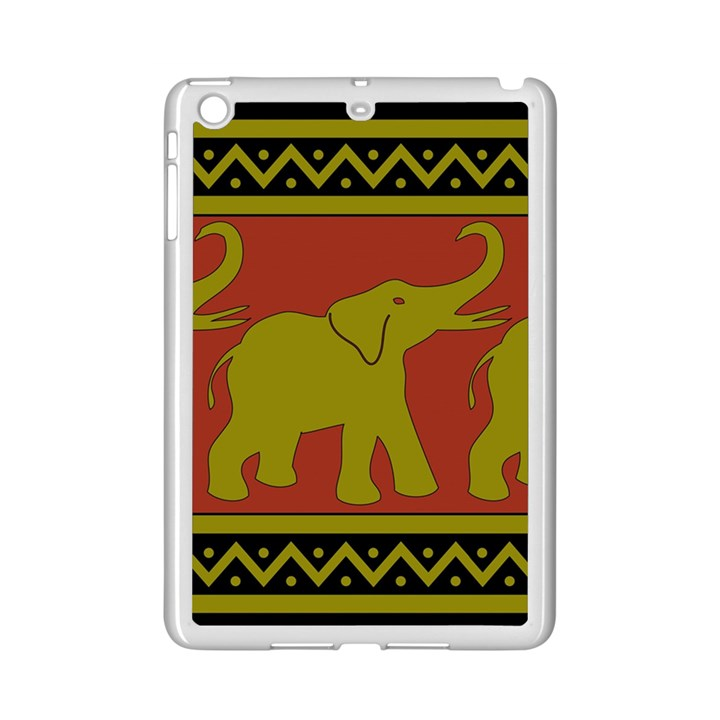 Elephant Pattern iPad Mini 2 Enamel Coated Cases