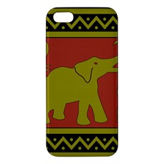 Elephant Pattern Apple iPhone 5 Premium Hardshell Case