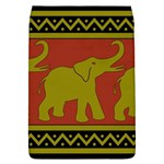 Elephant Pattern Flap Covers (L)  Front