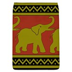 Elephant Pattern Flap Covers (S)  Front