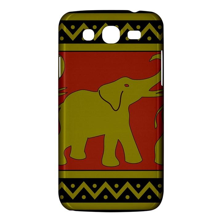 Elephant Pattern Samsung Galaxy Mega 5.8 I9152 Hardshell Case