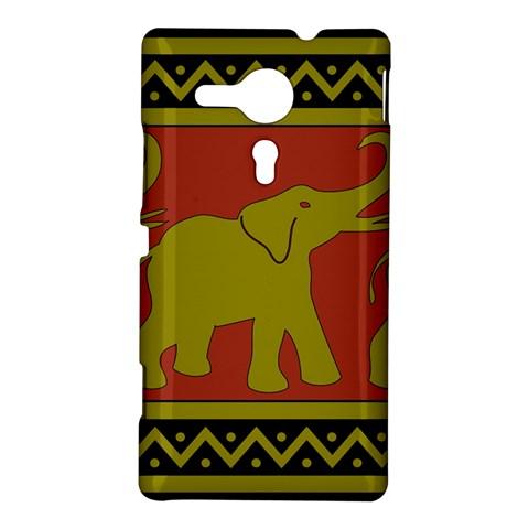 Elephant Pattern Sony Xperia SP