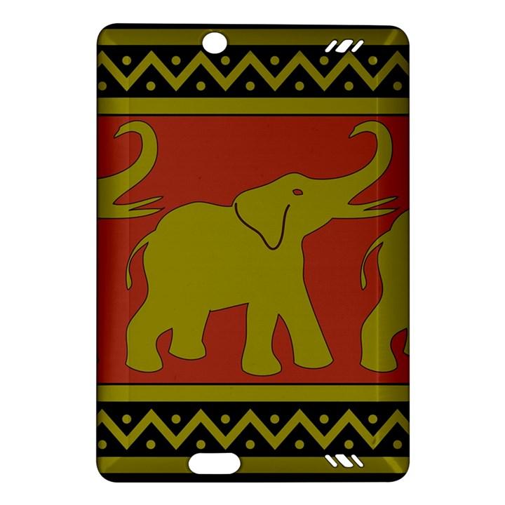 Elephant Pattern Amazon Kindle Fire HD (2013) Hardshell Case
