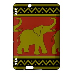 Elephant Pattern Kindle Fire HDX Hardshell Case