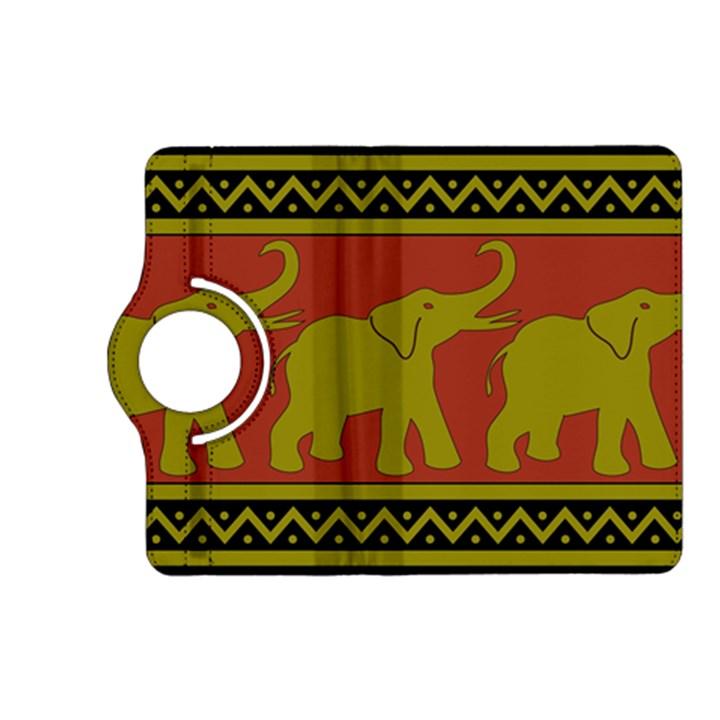 Elephant Pattern Kindle Fire HD (2013) Flip 360 Case