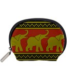 Elephant Pattern Accessory Pouches (Small)  Front