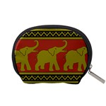 Elephant Pattern Accessory Pouches (Small)  Back