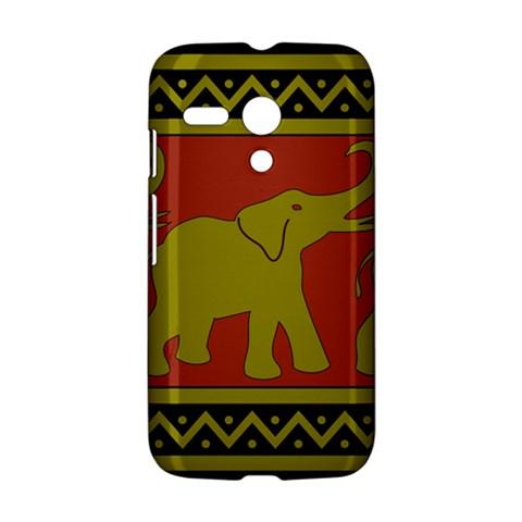 Elephant Pattern Motorola Moto G