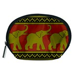 Elephant Pattern Accessory Pouches (Medium)  Front