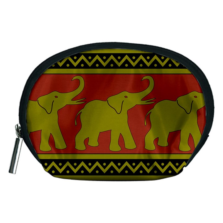 Elephant Pattern Accessory Pouches (Medium)