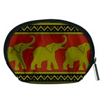 Elephant Pattern Accessory Pouches (Medium)  Back