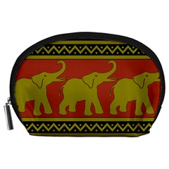 Elephant Pattern Accessory Pouches (Large)