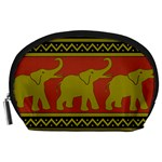 Elephant Pattern Accessory Pouches (Large)  Front