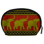 Elephant Pattern Accessory Pouches (Large)  Back