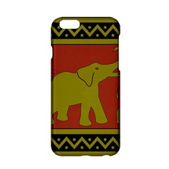 Elephant Pattern Apple iPhone 6/6S Hardshell Case
