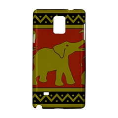 Elephant Pattern Samsung Galaxy Note 4 Hardshell Case