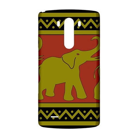 Elephant Pattern LG G3 Back Case