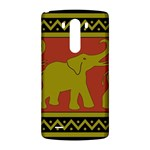 Elephant Pattern LG G3 Back Case Front