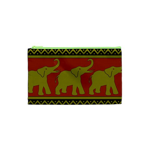 Elephant Pattern Cosmetic Bag (XS)