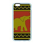 Elephant Pattern Apple Seamless iPhone 6/6S Case (Color) Front