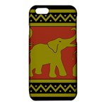 Elephant Pattern iPhone 6/6S TPU Case Front