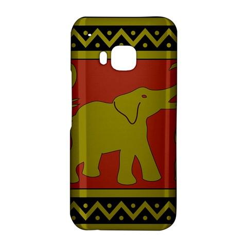 Elephant Pattern HTC One M9 Hardshell Case