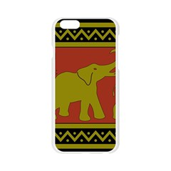 Elephant Pattern Apple Seamless iPhone 6/6S Case (Transparent)