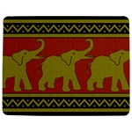 Elephant Pattern Jigsaw Puzzle Photo Stand (Rectangular) Front
